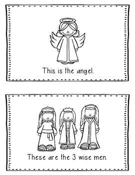 Christmas Bible Lesson Christ's Birth (All About Series/Preschool Kinder)