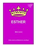 Bible Lesson -  Esther (Chapter 1) (NKJV) w/TAK & BONUS  -
