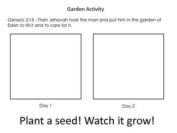 Christian Education: Creation - Garden of Eden Unit