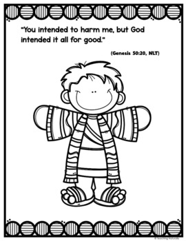 Joseph and his coat of many colors Bible Lesson (All About Series)