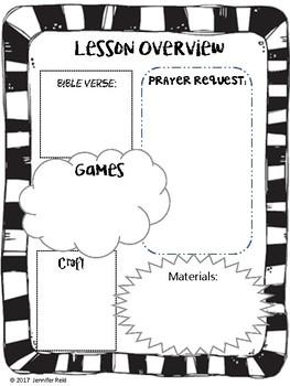 Bible Lesson Plan