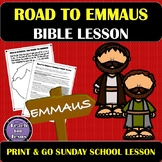 Road to Emmaus | Sunday School or Bible Lesson