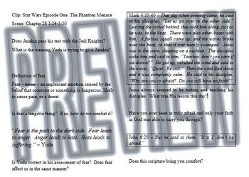 Bible Lesson Study: Star Wars 1