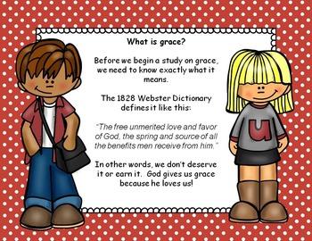 Bible Task Cards:  Grace