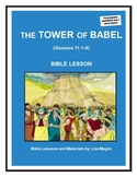 """""""The Tower of Babel"""" (Genesis 11:1-9) (NKJV) Bible Lesson"""