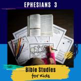 Bible Lesson for Kids: Ephesians 3