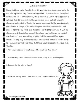 Bible Lessons: Daniel and the Lions' Den (My Story Series)