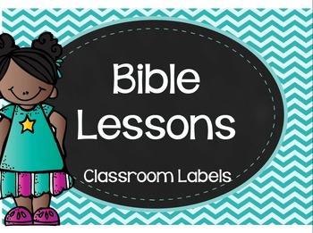 Bible Lessons - Labels