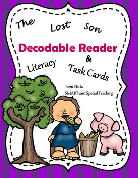 Christian Bible Decodable Story & Literacy Activities-The Prodigal Son