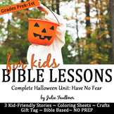 Halloween Bible Lessons for October