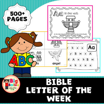 Bible Letter of the Week Bundle