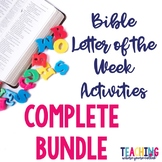 Bible Letter of the Week Activities