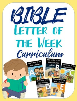 Bible Letter of the Week Curriculum - Co-op Group License