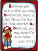 Bible Letter of the Week: Letter B