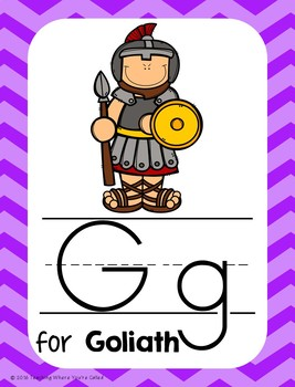 Bible Letter of the Week: Letter G