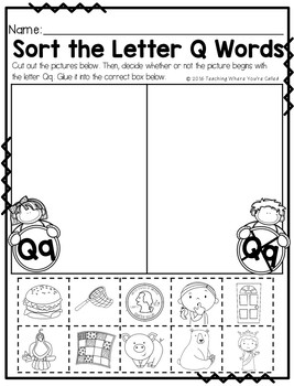 Bible Letter of the Week: Letter Q
