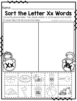 Bible Letter of the Week: Letter X