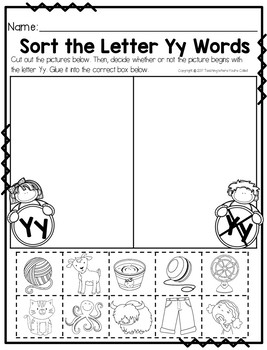 Bible Letter of the Week: Letter Y