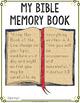 Bible Memory Book Cover