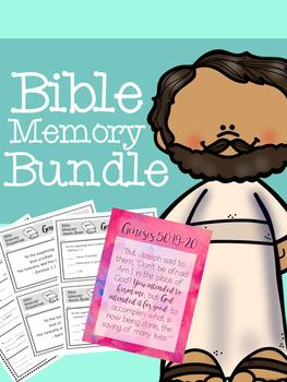 Bible Memory Bundle