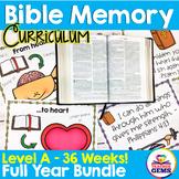 Bible Memory Curriculum - Full Year Bundle
