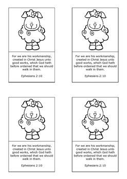 Bible Memory Verse Cards 1 { FREE }