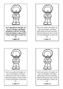 Bible Memory Verse Cards 2 { FREE }