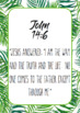 Bible Memory Verses Pack - Tropical Leaf