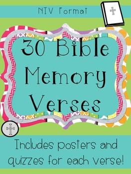 Bible Memory Verses and Quizzes