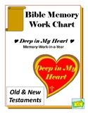 Bible Memory Work Chart