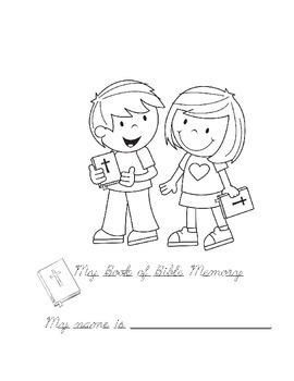 Bible Memory Work - Cursive!