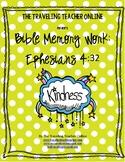 Bible Memory Work - Ephesians 4:32