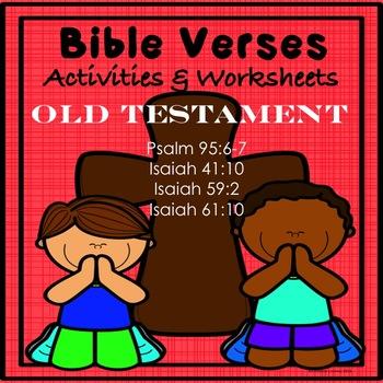 Bible, Memory, Scripture Verses  Bundle!