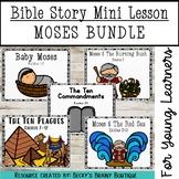 Bible Mini Lesson - Old Testament Bundle #3 - Moses