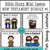 Bible Mini Lessons New Testament Bundle #1