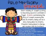 Bible Mini-Story: Joseph