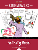 Bible Miracles Activity Book: Bible stories & worksheets