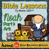 Noah's Ark Bible Lesson (Part 1 of 3 - The Ark)