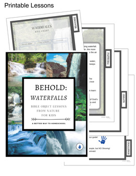 Bible Object Lessons for Kids: Waterfalls