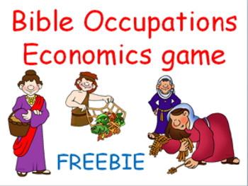 Bible Occupations Economics game