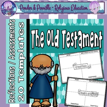 Bible Old Testament Reflections, Assessments or Portfolios