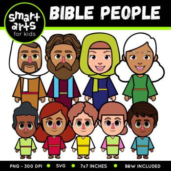Bible People Clip Art