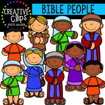 Bible People {Creative Clips Digital Clipart}