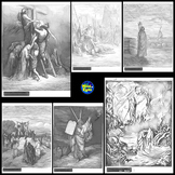 Bible Pictures/Clipart ~ 220 Sketches