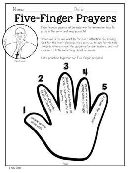 Teaching Prayer Mini-Lesson
