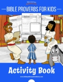 Bible Proverbs for Kids Coloring Activity Book
