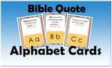 Bible Quote Alphabet Cards