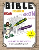 Bible Read Search Grow in Faith  Journey to the Cross
