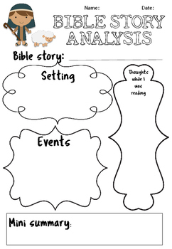 Bible Response Activity Pack
