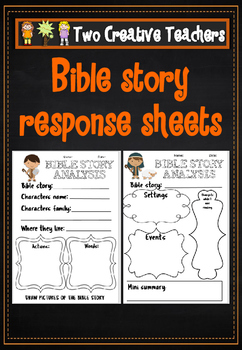 Bible Response Activity Pack